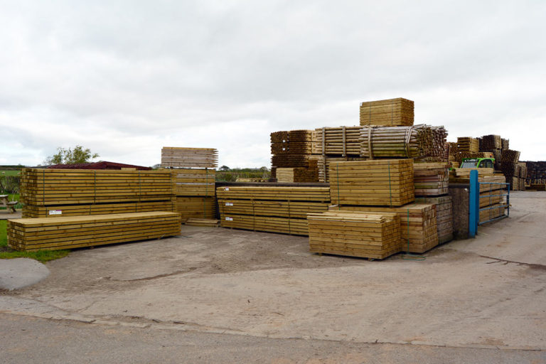 Williamson Fencing Supplies, Cumbria - Timber yard