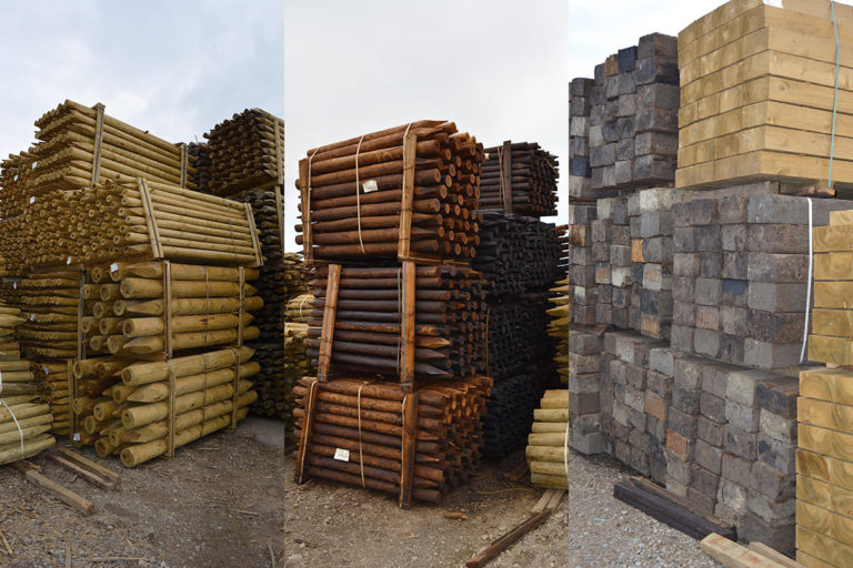Wide range of fencing materials for sale
