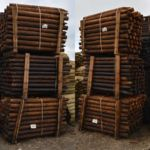 Redwood Creosote Pressure Treated Posts