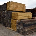 Reclaimed and New Railway Sleepers